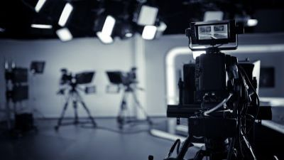 Image of a TV studio